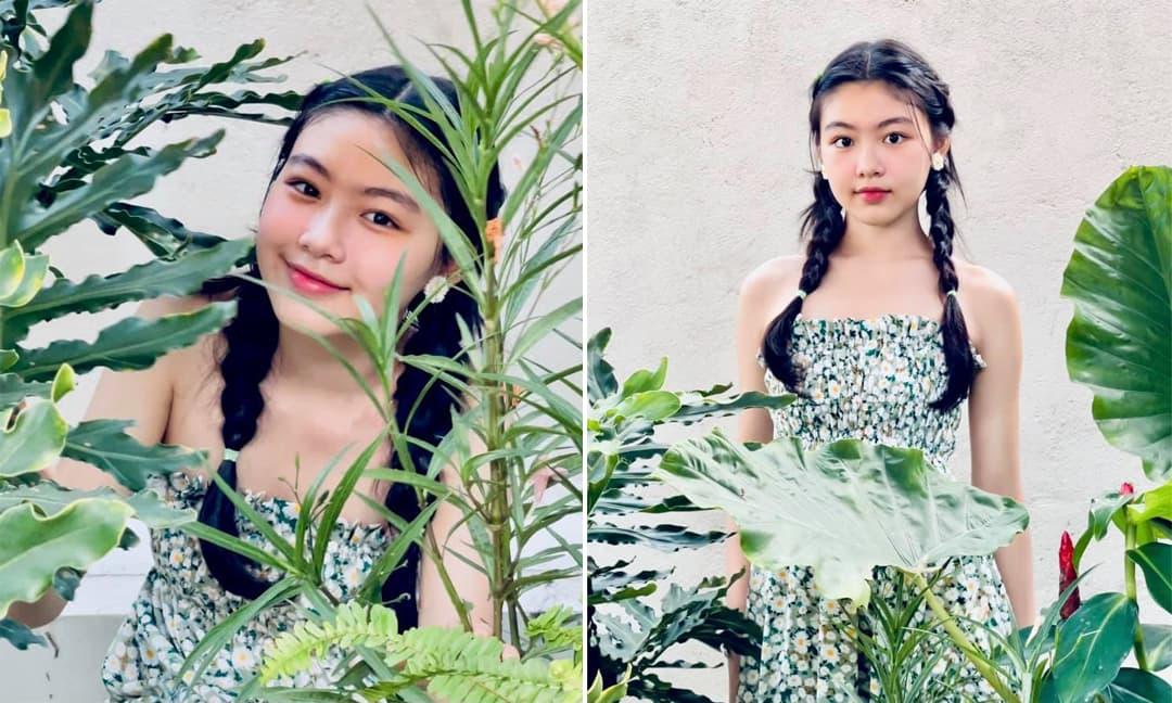 Vợ Quyền Linh tung ảnh mới của con gái đầu, nhan sắc xinh như Hoa hậu
