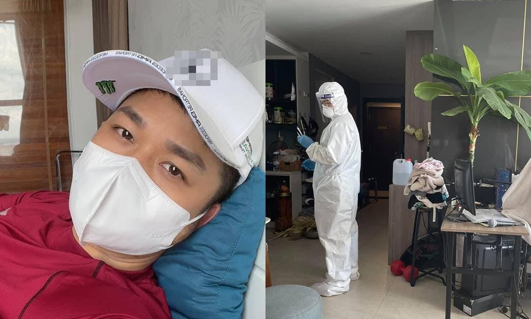 Quách Tuấn Du cập nhật tình hình sức khỏe sau khi nhiễm Covid-19, tự điều trị tại nhà