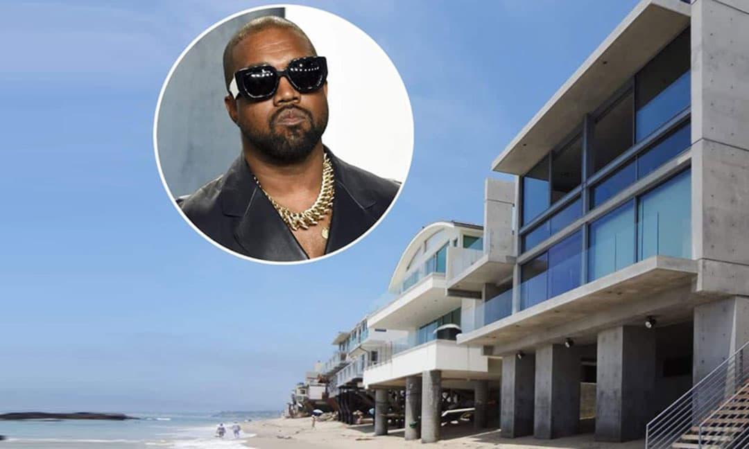 Rapper Kanye West mua nhà mới gần 1,3 nghìn tỷ đồng sau khi ly hôn Kim Kardashian