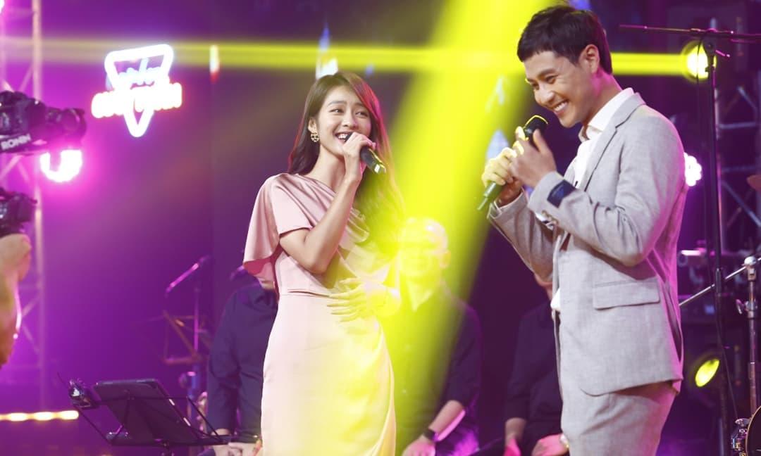 Cặp đôi 'oan gia ngõ hẹp' Thanh Sơn - Khả Ngân song ca cực ngọt ngào