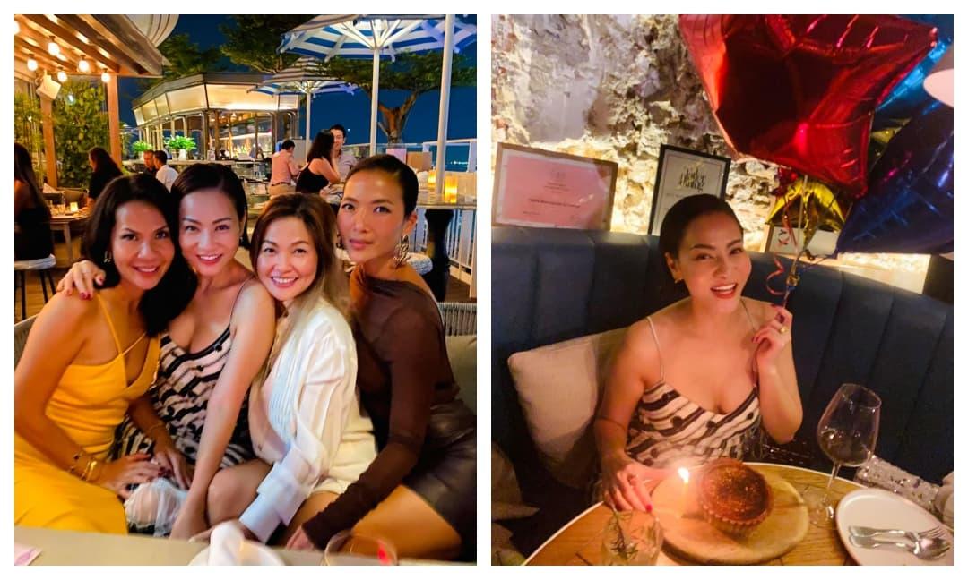 Thu Minh mừng sinh nhật bên hội bạn thân, nhan sắc trẻ trung và thân hình nóng bỏng chiếm trọn spotlight