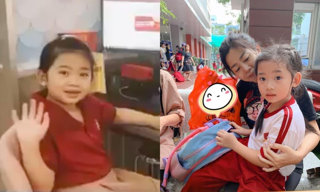 Con gái cố diễn viên Mai Phương nay lớn thấy rõ, quay clip khoe góc học tập online tại nhà chuẩn con nhà nòi
