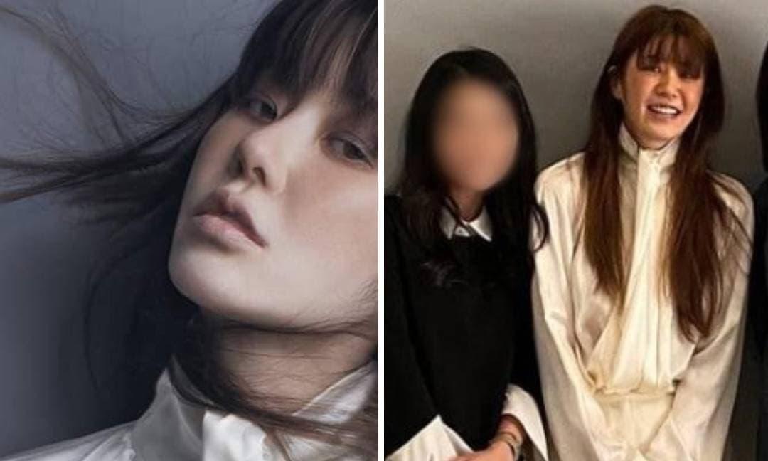 Ngã ngửa khi so sánh ảnh đã chỉnh sửa và ảnh hậu trường của 'nàng dâu bị đế chế Samsung ruồng bỏ'