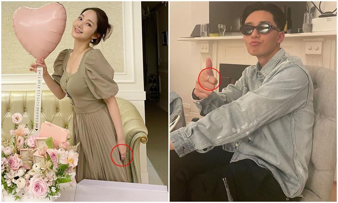 Park Seo Joon, Park Min Young lại lộ hint hẹn hò, trùng hợp hay cố ý?
