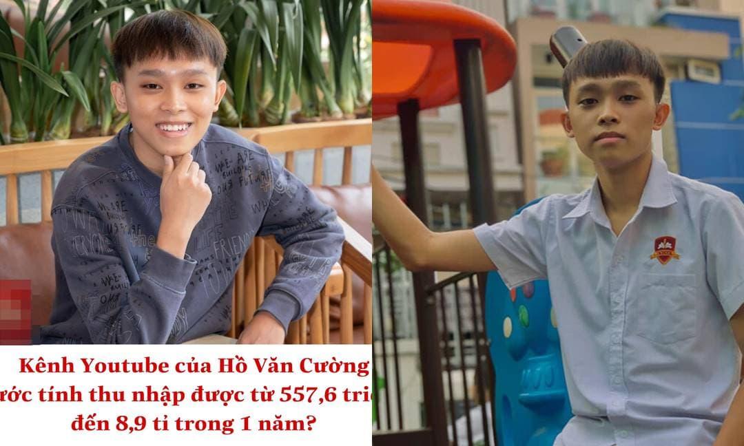 Cư dân mạng xôn xao kênh YouTube của Hồ Văn Cường kiếm được số tiền 'khủng' sau khi trả lại tài khoản cho công ty cố ca sĩ Phi Nhung