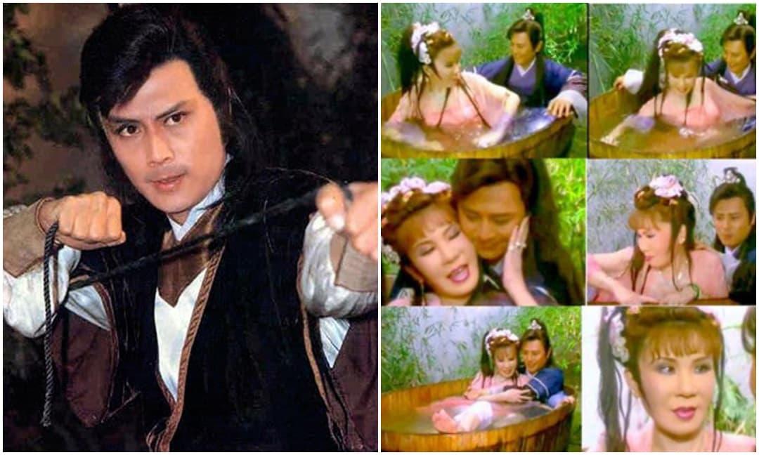 Nam thần gây sốc khi đóng cảnh hôn với 'Tiểu Long Nữ' già xấu nhất màn ảnh, khi về già phải chịu cảnh sống đơn độc
