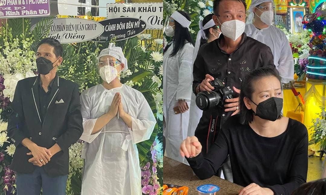 NSƯT Trịnh Kim Chi, Huy Khánh và loạt sao Việt buồn bã đến viếng đám tang cố đạo diễn Trần Cảnh Đôn