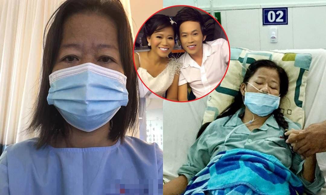 Con gái nuôi NSƯT Hoài Linh bị đột quỵ liệt nửa người, ngã vỡ xương khi đang nằm bệnh viện