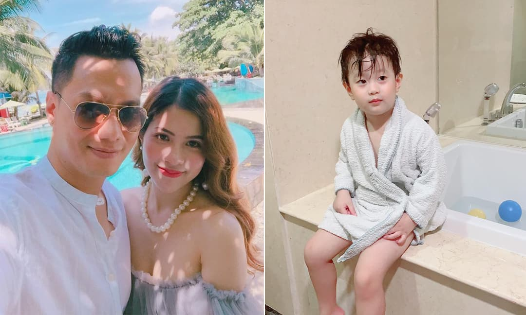 Thấy vợ cũ nhắc chưa 'ting ting' gửi tiền cho con trai, Việt Anh nói gì?