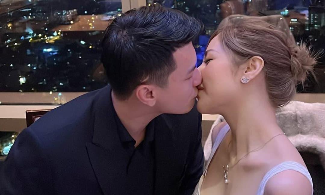 Huỳnh Anh khoe khung ảnh ngọt ngào mừng sinh nhật bạn gái Bạch Lan Phương