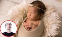 Khánh Đơn khoe trọn bộ ảnh đẹp của con gái hơn 1 tháng tuổi