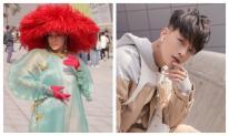 Hoa hậu Tuyết Nga diện áo dài xuyên thấu, Ti Ti mặc cây đồ thanh lịch trong ngày thứ 2 ở Seoul Fashion Week
