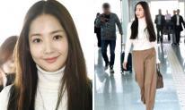 Lên đồ sương sương, 'Thư ký Kim' Park Min Young biến sân bay thành sàn catwalk