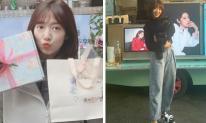 Fan phấn khích trước hình ảnh Park Shin Hye sành điệu trên phim trường 'Alone'