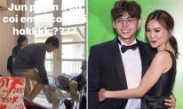 Lan Ngọc vô tư đăng ảnh Jun Phạm thay quần áo ngay trước mặt