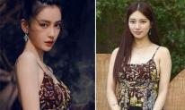 Không liên quan gì đến nhau nhưng Angelababy và Suzy lại nhiều duyên nợ trong khoản 'đụng hàng'