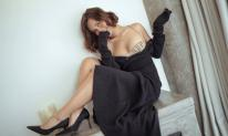 Phan Lê Ái Phương khiến fans 'rớt tim' khi vòng một chỉ muốn trào ra khỏi váy