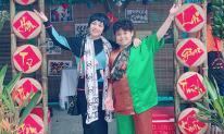 Ngọc Khuê cùng con trai về thăm trường cũ nhân ngày Nhà giáo Việt Nam