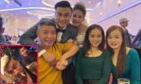 Công Lý và bạn gái đi dự đám cưới 'Việt Sói - Mê Cung' Duy Hưng