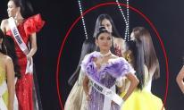 Hương Ly bất ngờ ngất xỉu ngay trên sân khấu Hoa hậu Hoàn vũ Việt Nam 2019