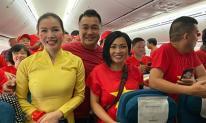 Phương Thanh, Lý Hùng sang Philippines cổ vũ U22 Việt Nam trận chung kết SEA Games 30
