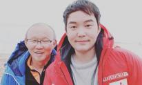 Chân dung con trai người Hàn hiếm khi lên sóng của huấn luyện viên Park Hang-seo