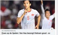 Bị fans Indonesia tổng tấn công, Đoàn Văn Hậu xin lỗi vì khiến đội trưởng đội bạn ngồi xe lăn