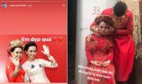 Sợ Quỳnh Anh buồn khi bị chê makeup kém sắc trong đám hỏi, Duy Mạnh nhắn đến vợ: 'Em đẹp quá'