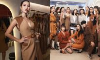 Siêu mẫu Hà Anh hội ngộ dàn thí sinh đình đám của Vietnam's Next Top Model