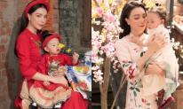 Trà Ngọc Hằng và con gái Sophia khoe bộ ảnh xuân chất ngất