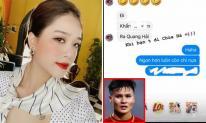 Giữa nghi án chia tay Quang Hải, 'cô chủ tiệm nail' lại bị lộ đoạn tin nhắn với bạn thân, hé lộ điều bất ngờ