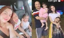 Phạm Quỳnh Anh cho hai con gái về quê nội đón Tết với Quang Huy