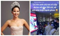H'Hen Niê ngồi cả ra đất đợi chuyến bay:Hoa hậu cũng chật vật về quê ngày Tết như ai