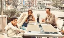 Hà Hồ đăng ảnh hạnh phúc cùng người yêu và con trai ở Tokyo, Kim Lý khẳng định là một gia đình