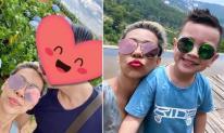 Ca sĩ 'xấu lạ' Thảo Trang đưa con trai đi du lịch cùng bạn trai mới
