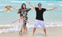 Lý Hải - Minh Hà đưa 4 con đi du lịch biển sau khoảng thời gian 'nằm nhà' vì dịch bệnh