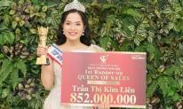 Trần Thị Kim Liên bứt phá lên Á Hoàng Sales 1 với tổng giải thưởng 852.000.000đ