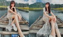 Lạm dụng photoshop, Hương Giang idol bị soi đôi chân dài đến kỳ dị
