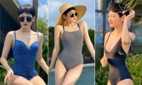 Du lịch hè, ngại cởi hở quá mức hãy tham khảo mẫu áo tắm kín nhưng vẫn tôn dáng của Hiền Hồ