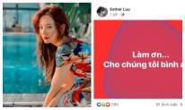 Hari Won bất ngờ đăng status mong được bình an vào nửa đêm khiến fan thấp thỏm