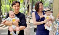 Bốn tháng sau sinh, em gái Trấn Thành vẫn chưa lấy được vóc dáng ban đầu, lộ rõ vòng hai ngấn mỡ