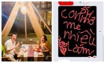 Trốn con đi chơi cùng chồng, Ốc Thanh Vân được 'triệu tập' về bởi tin nhắn không thể cưng hơn của các nhóc tì