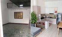 Mua nhà cấp bốn cũ, trống huơ trống hoác, vợ chồng trẻ cải tạo thành không gian sống hiện đại