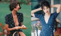 Ngực lớn và ngực phẳng, có gì khác biệt khi mặc cùng một chiếc váy?!