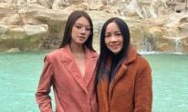 Chân dung người mẹ trẻ trung, sành điệu của Hoa hậu Jolie Nguyễn