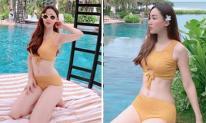 Bị chồng chê béo Á hậu Ngô Trà My quyết tâm giảm cân, kết quả khiến dân mạng 'lác mắt'