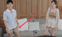 Lâm Chí Dĩnh muối mặt vì gặp sự cố không kéo khóa quần trên truyền hình