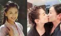 Đã có gia đình, mỹ nhân 'Thiên long bát bộ' gây sốc khi đăng ảnh khóa môi bạn đồng giới