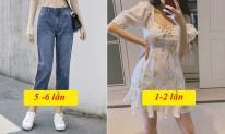 Với những loại trang phục khác nhau bạn có thể mặc bao nhiêu lần trước khi giặt?