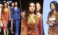 'Tiểu Long Nữ đẹp nhất màn ảnh' Lý Nhược Đồng đi catwalk, vóc dáng quyến rũ ở tuổi 54 khiến ai cũng mê mẩn